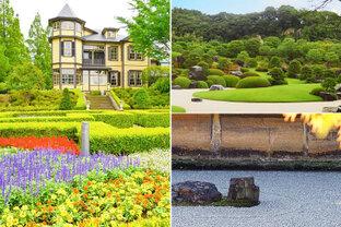 特別名勝の石庭から緑のイタリア庭園まで。絵画のように美しい全国の素敵な庭園へ