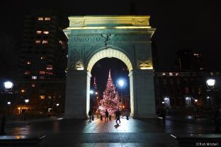 クリスマス・イルミネーションの季節。ニューヨークに聖夜がやってきます