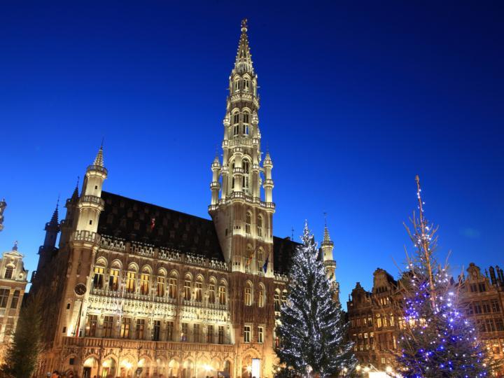 ブリュッセルで過ごすクリスマスのひととき