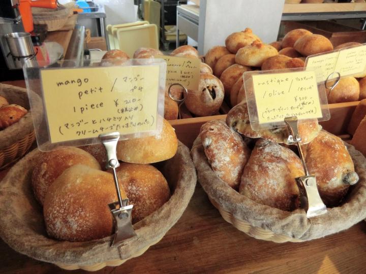 チクテの自家製酵母パンは、香りもおいしい