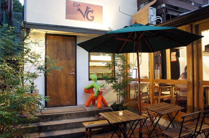 一軒家のベジタリアンカフェ「cafe VG」で気軽に菜食を楽しむ