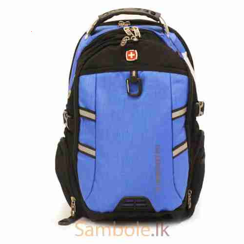 620804d863 SWISSGEAR 7237 Laptop Back Pack (Blue) - Sambole.lk