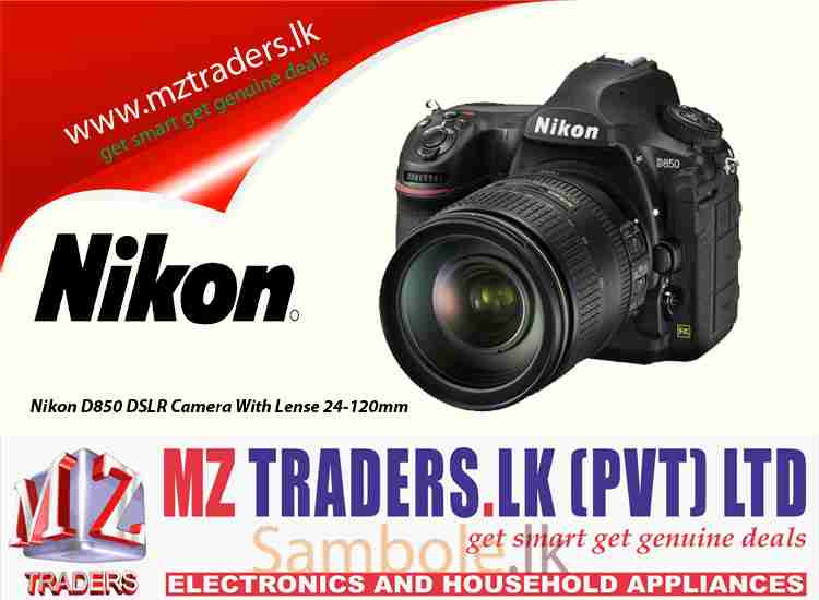 Nikon D850 DSLR Camera With Lense 24-120mm - Sambole lk