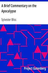 A Brief Commentary on the Apocalypse by Sylvester Bliss