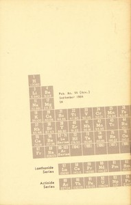 A Brief History of Element Discovery, Synthesis, and Analysis by Glen W. Watson