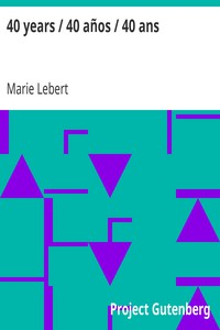 40 years / 40 años / 40 ans by Marie Lebert