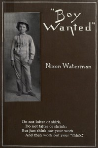 """Boy Wanted"": A Book of Cheerful Counsel by Nixon Waterman"