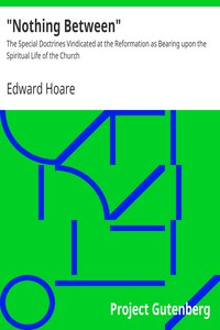 """""""Nothing Between"""" by Edward Hoare"""