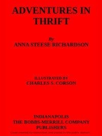 Adventures in Thrift by Anna Steese Richardson