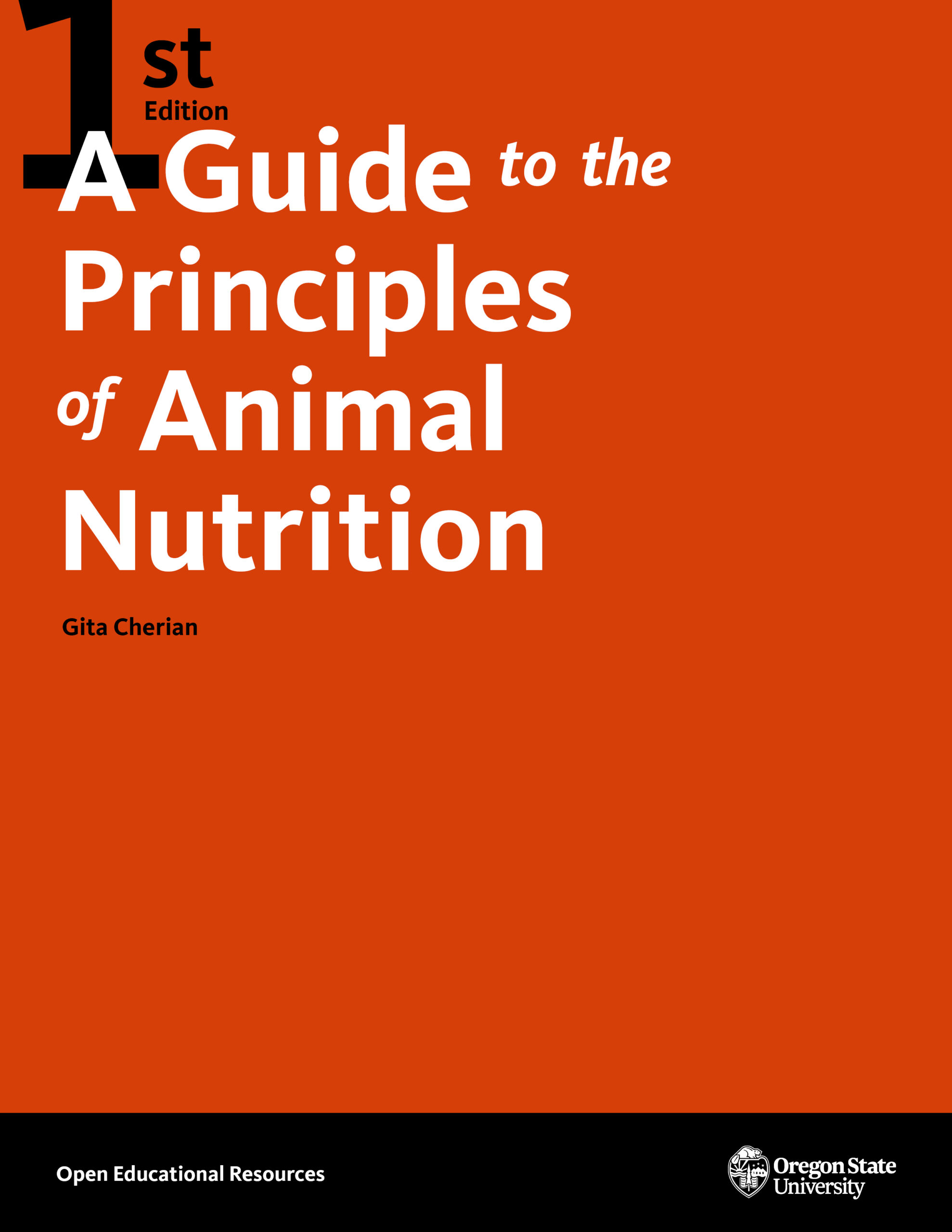 A Guide to the Principles of Animal Nutrition