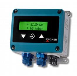 Verschildruktransmitter DE44 met LCD van Fischer