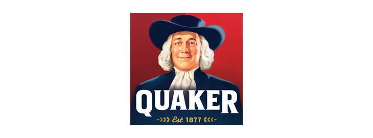 Logo Quaker Oats in Rotterdam
