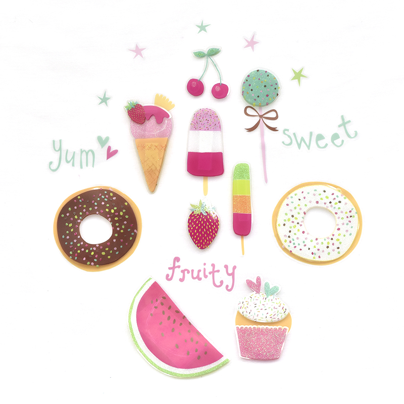 VINIL DECORATIVO YUMMY