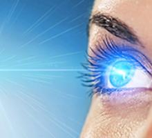 As influências da luz azul sobre a retina