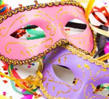Folia de carnaval pede atenção com os olhos