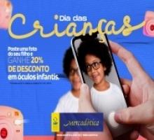 Mercadótica Kids: campanha informativa chama atenção para o cuidado da visão infantil