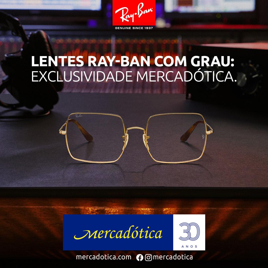 Mercadótica e lentes graduadas Ray-Ban: tendência e inovação