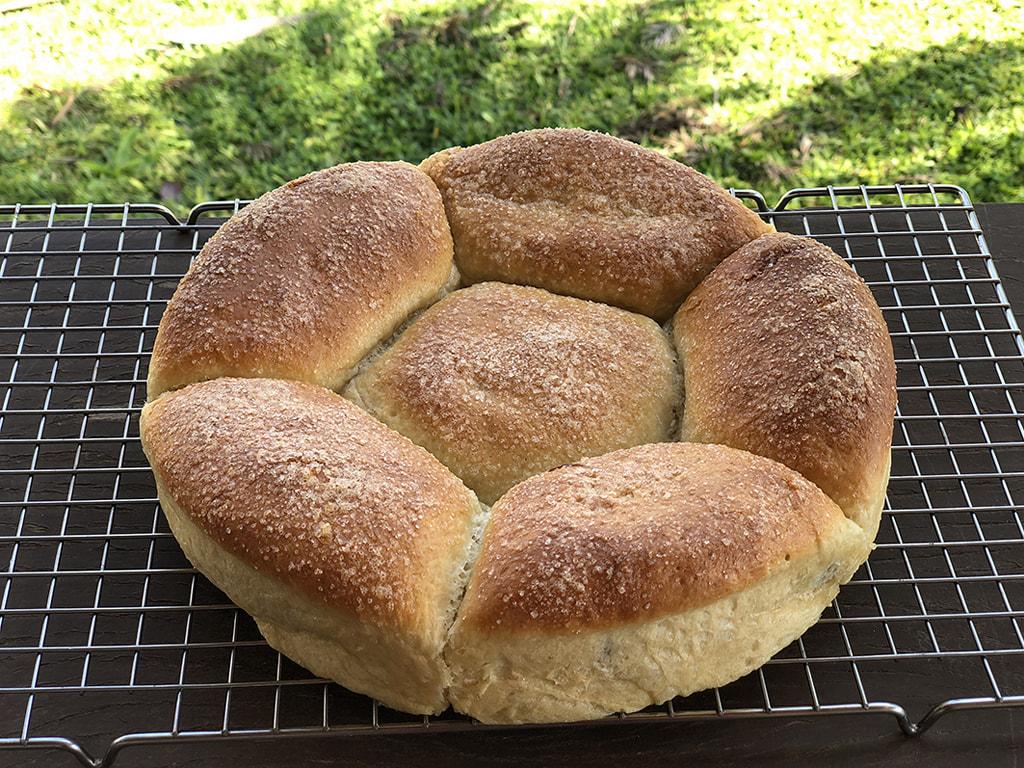 Pão Doce de Levain e Nutella