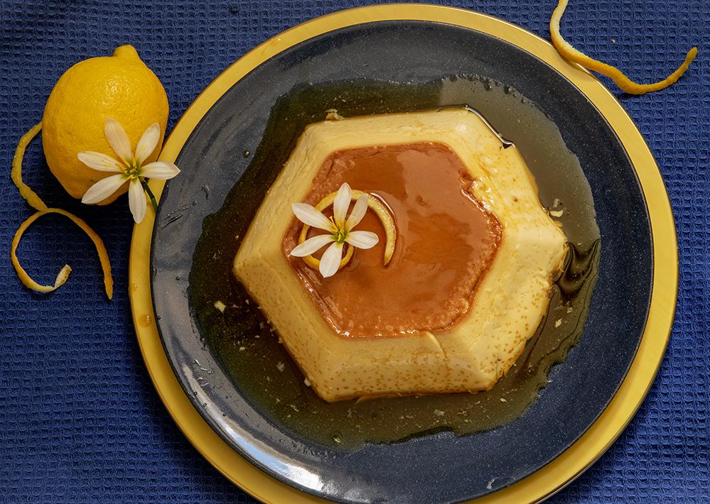 Pudim de Laranja ou Limão-Siciliano