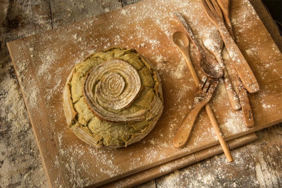 Pão de Couve com Levain