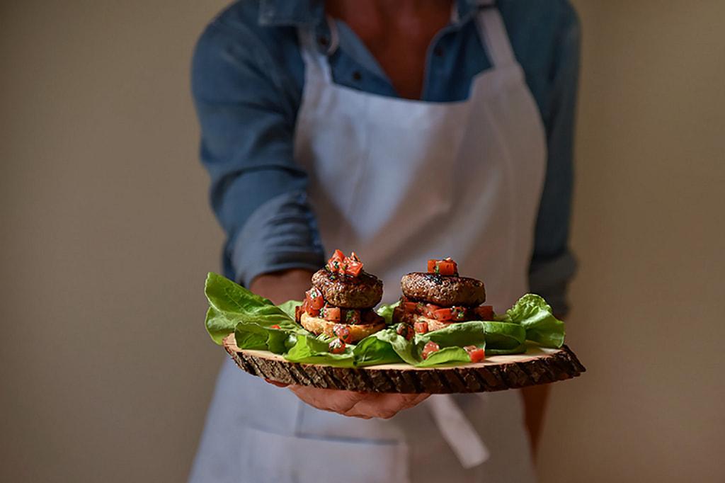 Bruschetta de Hambúrguer Toscano