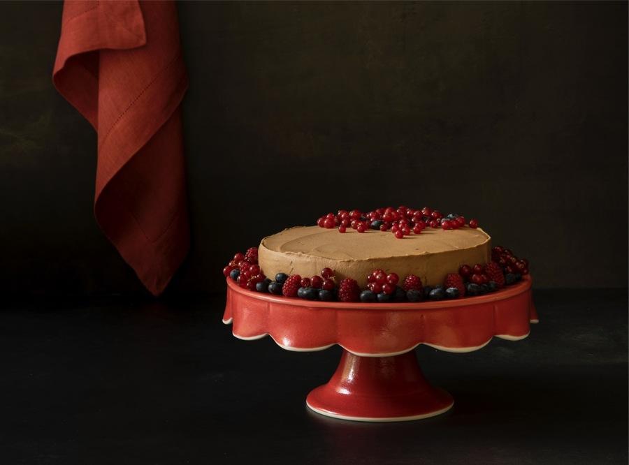 Torta de Café sem Farinha