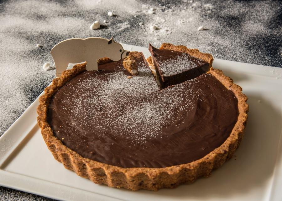 Torta de Chocolate Trufado