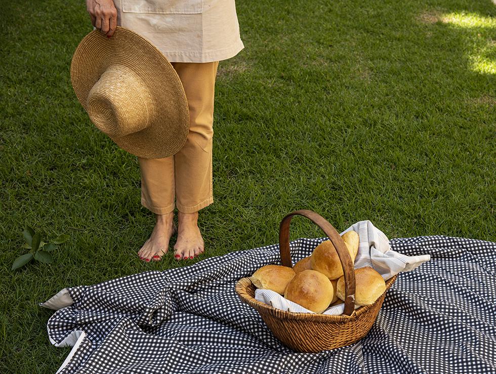 Pão de Hambúrguer Tipo Brioche
