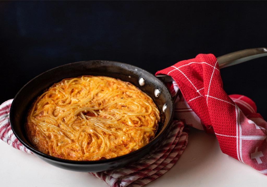 Omelete de Espaguete