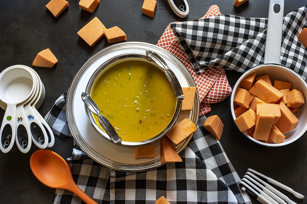 Sopa-Creme de Abóbora