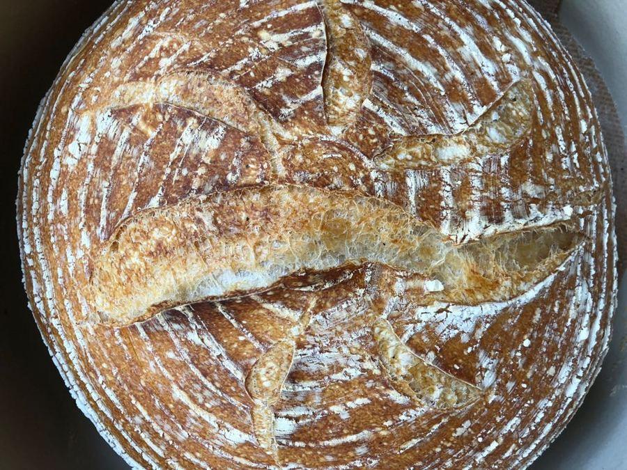 Pão de Levain do Tartine