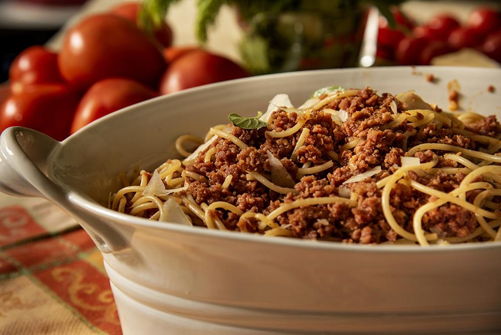 Spaghetti com Molho de Calabresa