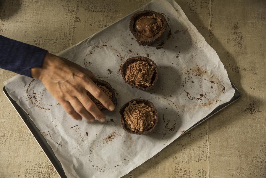 Casquinhas de Chocolate e Mascarpone