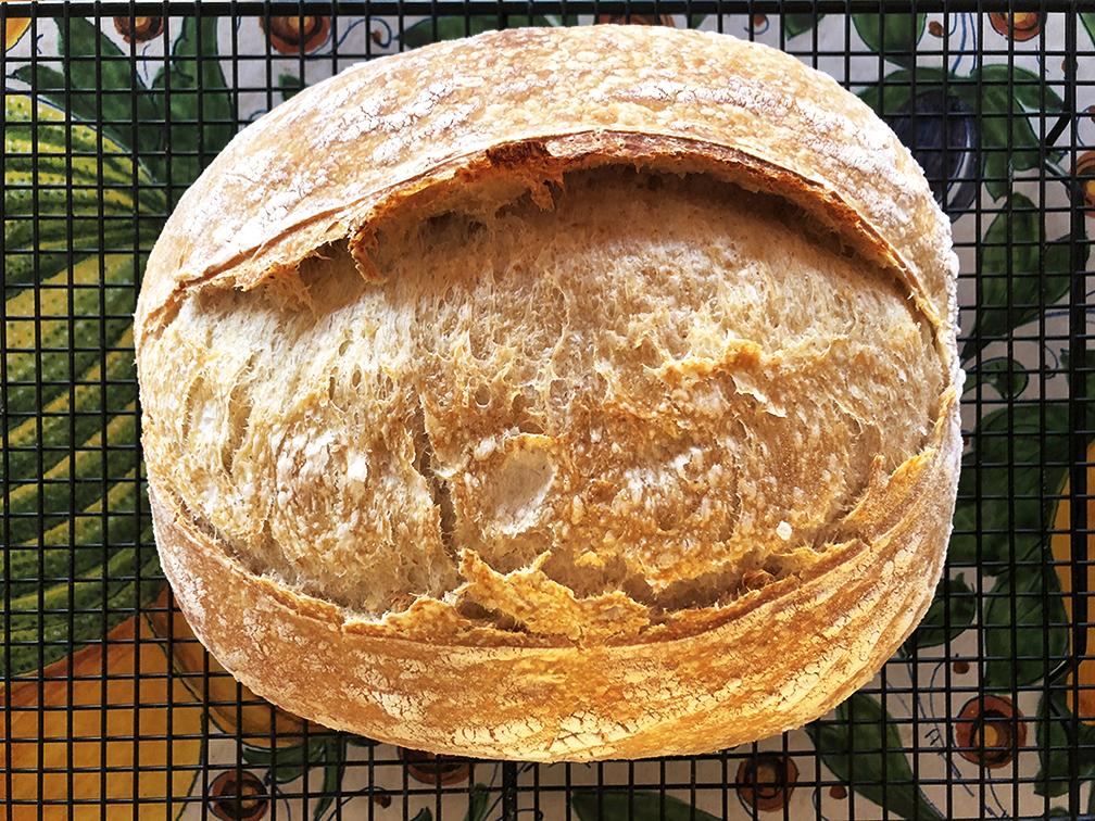 Pão Integral com Levain