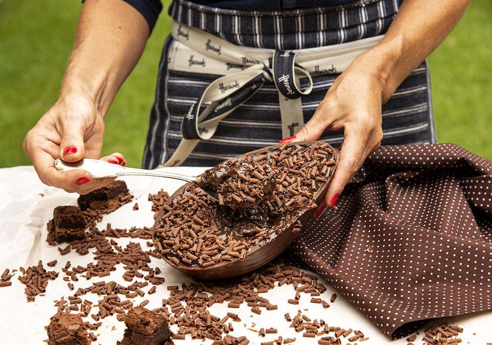 Ovo Brownie de Colher