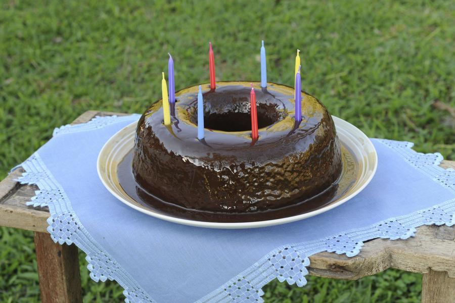 Bolo de Chocolate para Aniversários