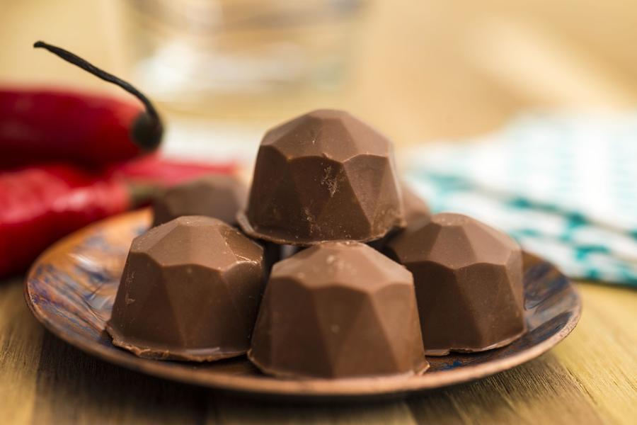 Bombom de Chocolate Quente