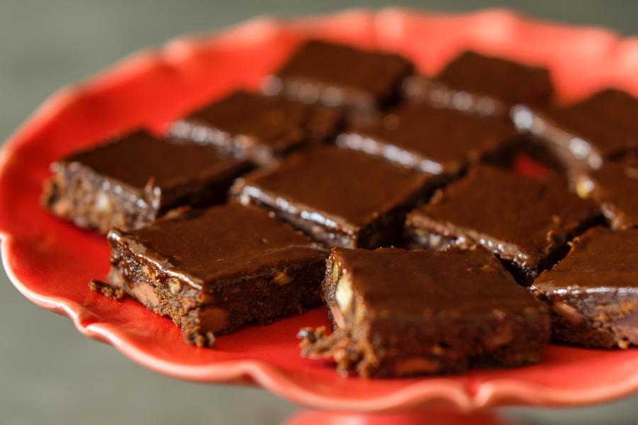 Brownie Mágico de Café Expresso