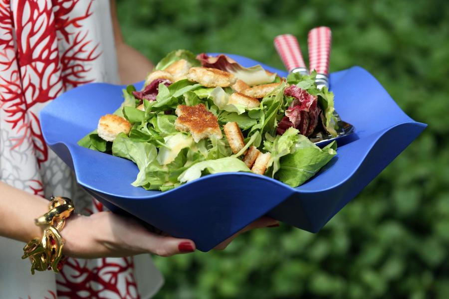 Salada de Verão com Crôutons