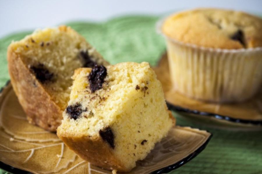 Muffins de Chocolate Pedaçudo
