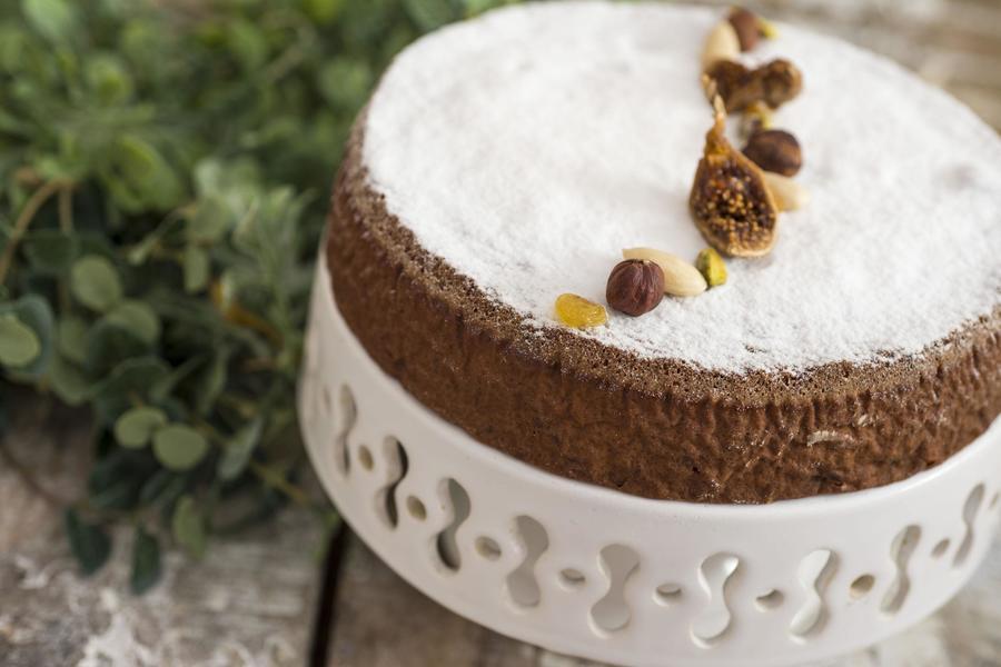 Panforte (Torta de Castanhas, Frutas Secas e Mel)