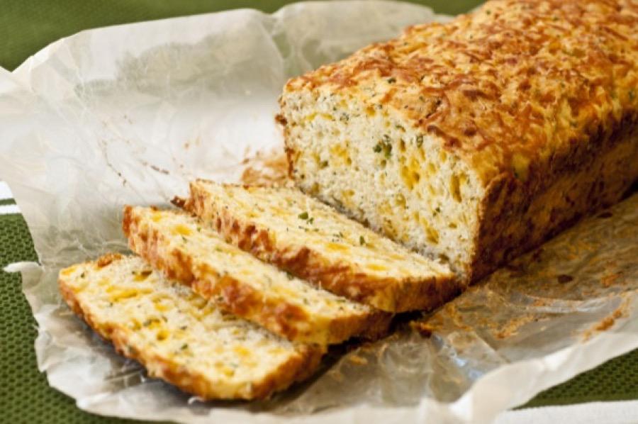 Pão de Ervas com Queijo