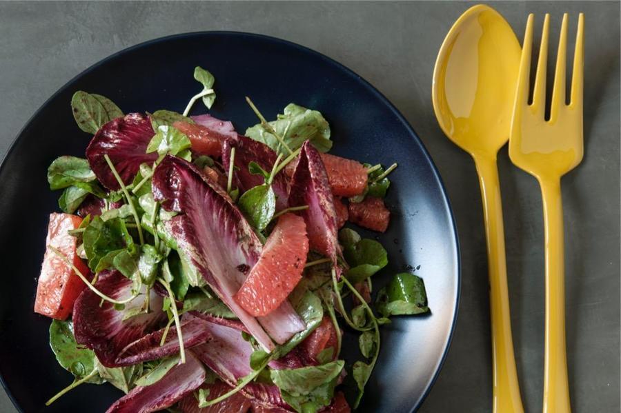 Salada de Grapefruit e Endívia