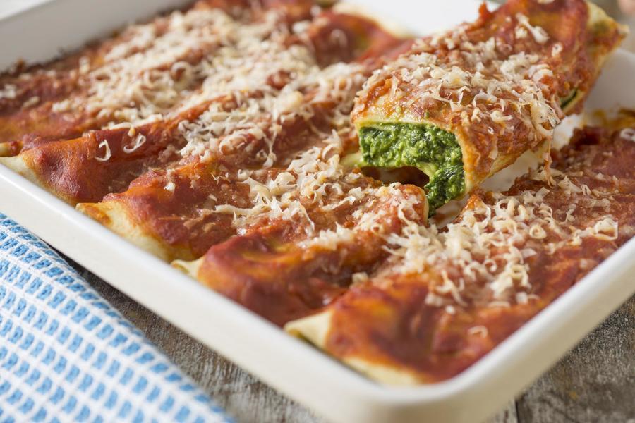 Cannelloni de Espinafre
