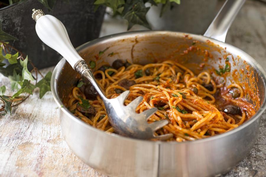 Espaguete à Puttanesca