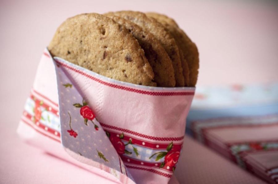 Cookies de Chocolate e Pasta de Amendoim