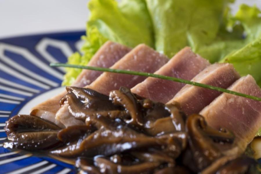 Bife de Atum com Shiitake
