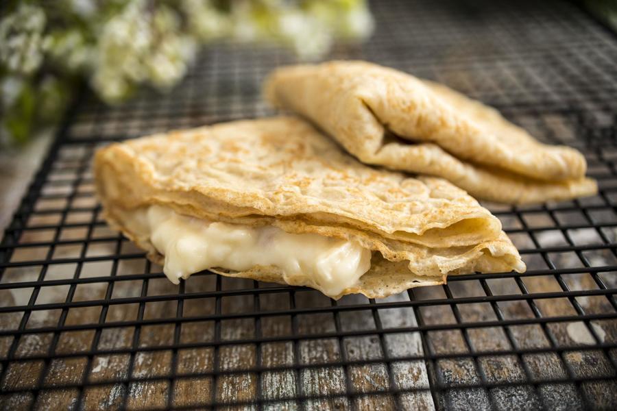 Crepes Integrais de Camembert