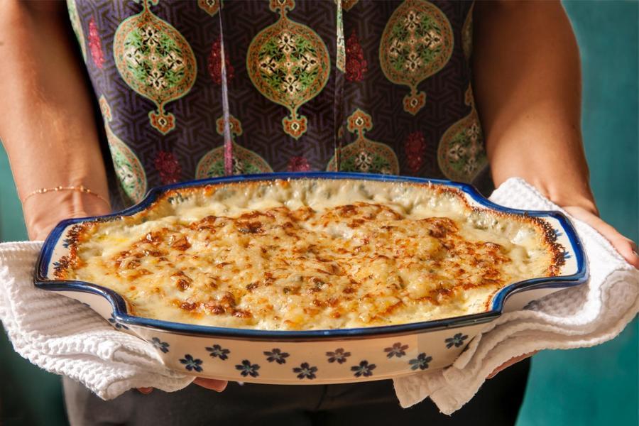 Batata Gratinada à Sologne
