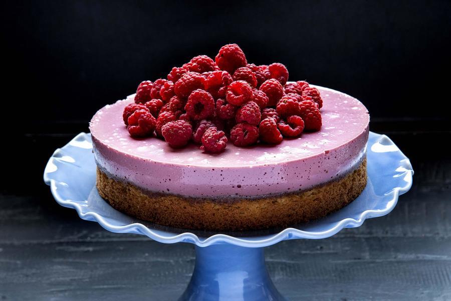 Torta Francesa de Framboesa